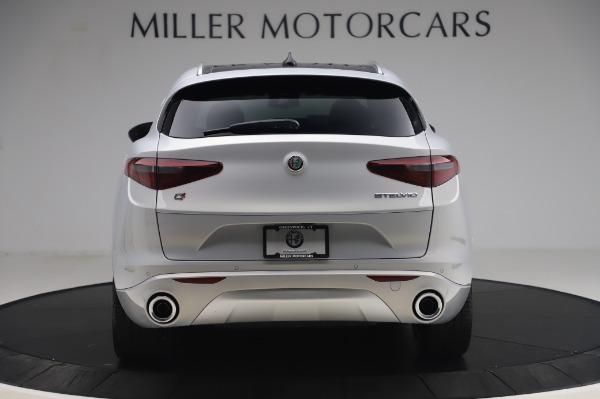 New 2020 Alfa Romeo Stelvio Ti Lusso Q4 for sale $54,145 at Bentley Greenwich in Greenwich CT 06830 6