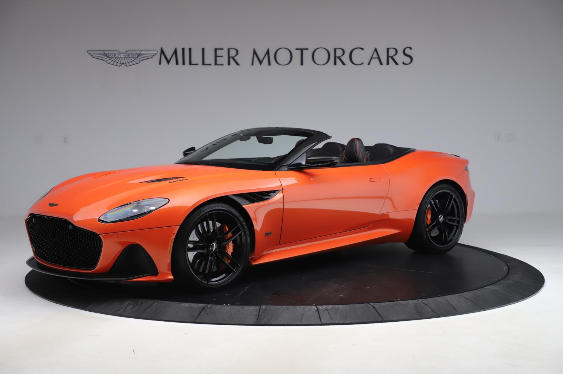 Used 2020 Aston Martin DBS Superleggera Volante for sale Sold at Bentley Greenwich in Greenwich CT 06830 1