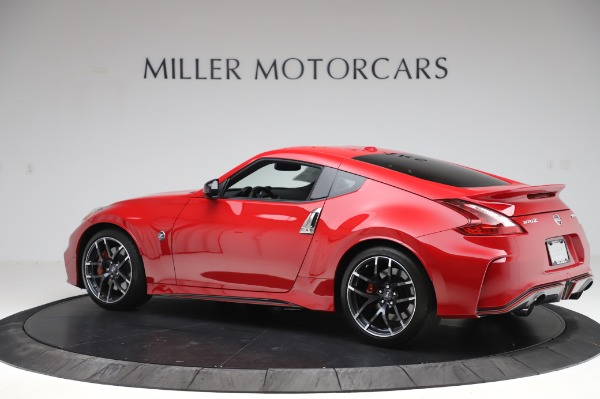 Used 2018 Nissan 370Z NISMO Tech for sale $39,900 at Bentley Greenwich in Greenwich CT 06830 4
