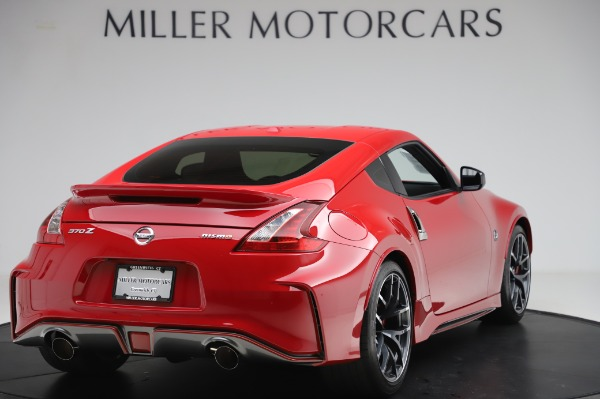 Used 2018 Nissan 370Z NISMO Tech for sale $39,900 at Bentley Greenwich in Greenwich CT 06830 6