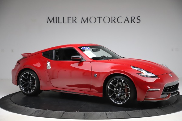 Used 2018 Nissan 370Z NISMO Tech for sale $39,900 at Bentley Greenwich in Greenwich CT 06830 8