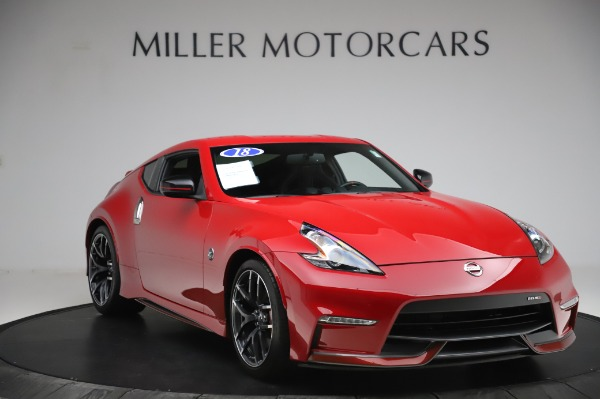 Used 2018 Nissan 370Z NISMO Tech for sale $39,900 at Bentley Greenwich in Greenwich CT 06830 9