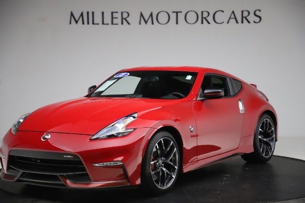 Used 2018 Nissan 370Z NISMO Tech for sale $39,900 at Bentley Greenwich in Greenwich CT 06830 1