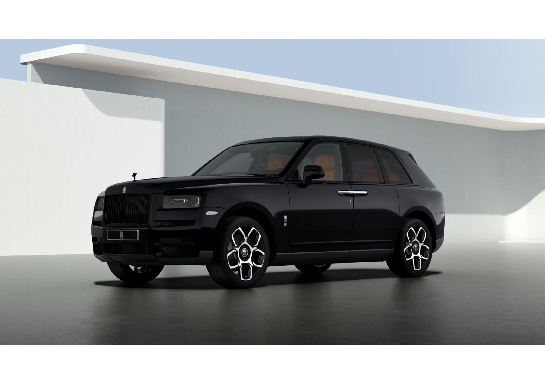 New 2021 Rolls-Royce Cullinan Black Badge for sale $433,225 at Bentley Greenwich in Greenwich CT 06830 1