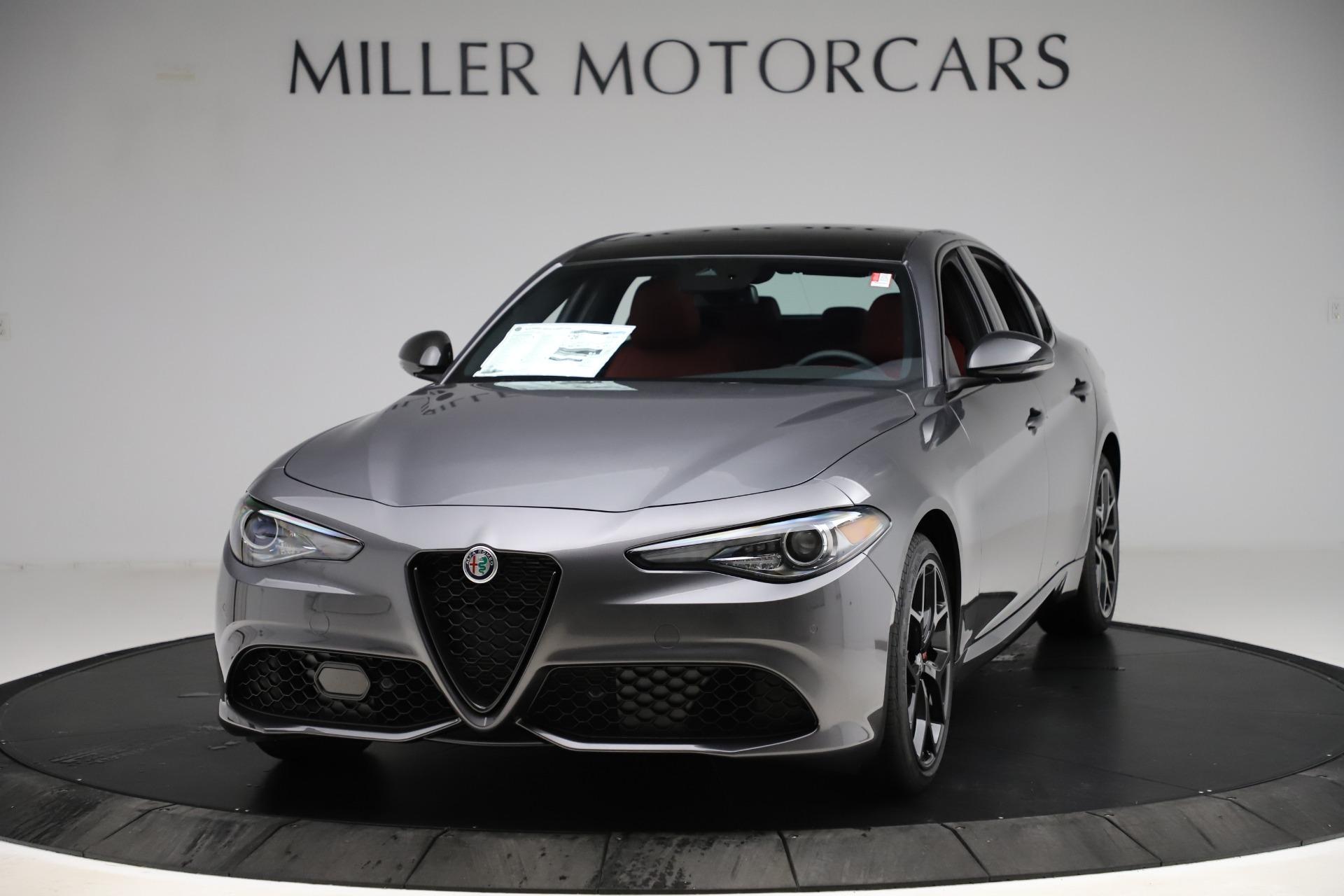 New 2020 Alfa Romeo Giulia Ti Sport Q4 for sale $53,595 at Bentley Greenwich in Greenwich CT 06830 1