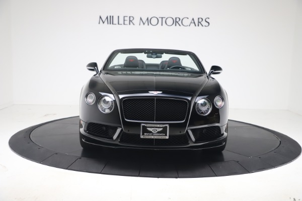 Used 2014 Bentley Continental GTC V8 S for sale $109,900 at Bentley Greenwich in Greenwich CT 06830 10