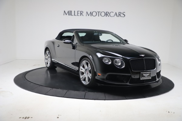 Used 2014 Bentley Continental GTC V8 S for sale $109,900 at Bentley Greenwich in Greenwich CT 06830 19