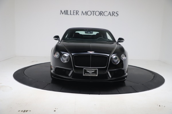 Used 2014 Bentley Continental GTC V8 S for sale $109,900 at Bentley Greenwich in Greenwich CT 06830 20