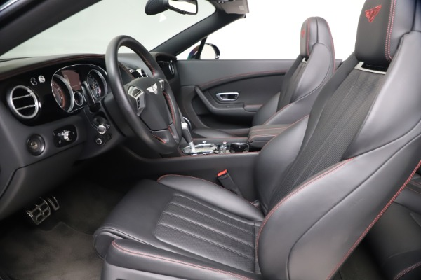 Used 2014 Bentley Continental GT Convertible V8 S for sale $109,900 at Bentley Greenwich in Greenwich CT 06830 25