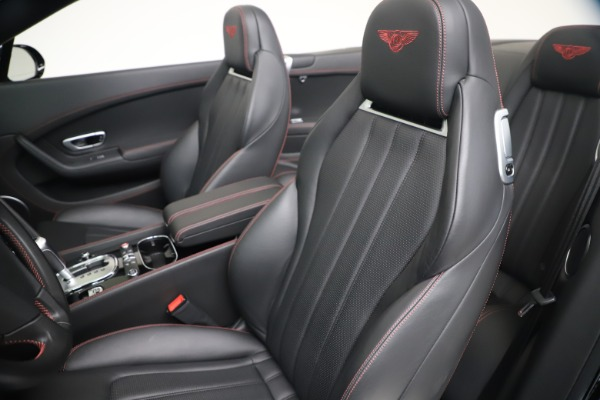 Used 2014 Bentley Continental GTC V8 S for sale $109,900 at Bentley Greenwich in Greenwich CT 06830 26