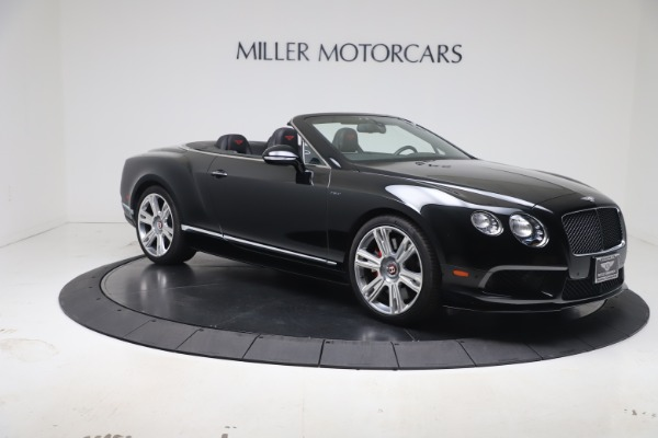 Used 2014 Bentley Continental GTC V8 S for sale $109,900 at Bentley Greenwich in Greenwich CT 06830 9