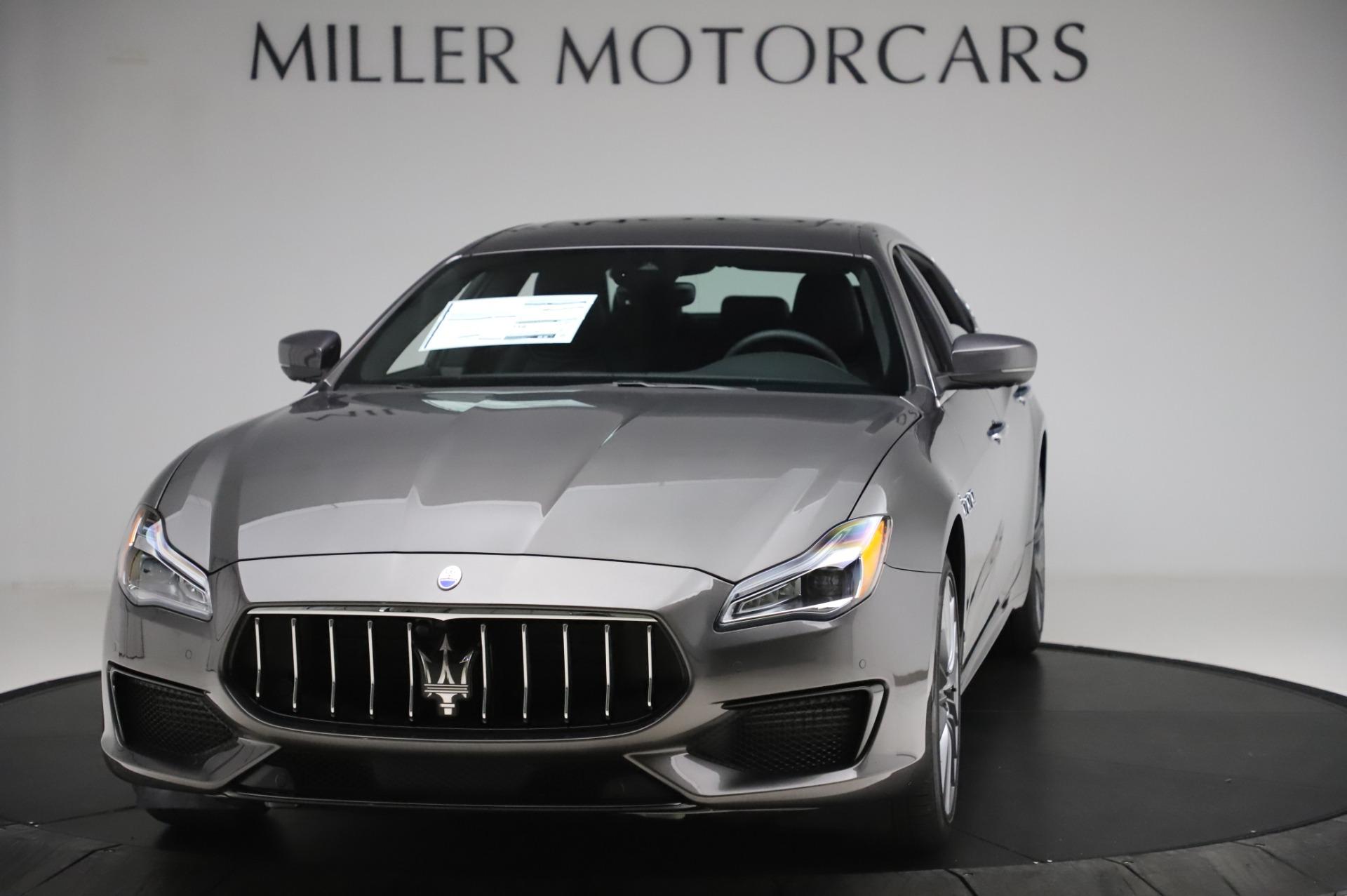 New 2020 Maserati Quattroporte S Q4 GranSport for sale $125,085 at Bentley Greenwich in Greenwich CT 06830 1
