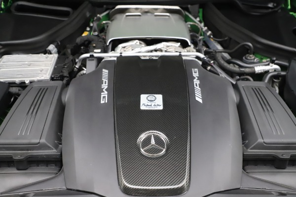 Used 2019 Mercedes-Benz AMG GT R for sale $155,900 at Bentley Greenwich in Greenwich CT 06830 28