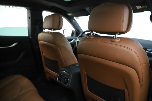 Used 2017 Maserati Levante Q4 for sale $51,900 at Bentley Greenwich in Greenwich CT 06830 26