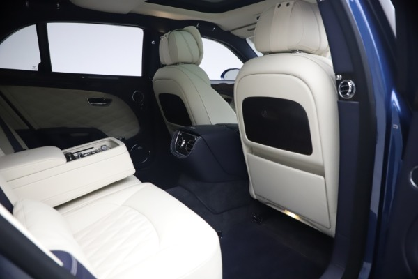 Used 2020 Bentley Mulsanne Speed for sale $279,900 at Bentley Greenwich in Greenwich CT 06830 27