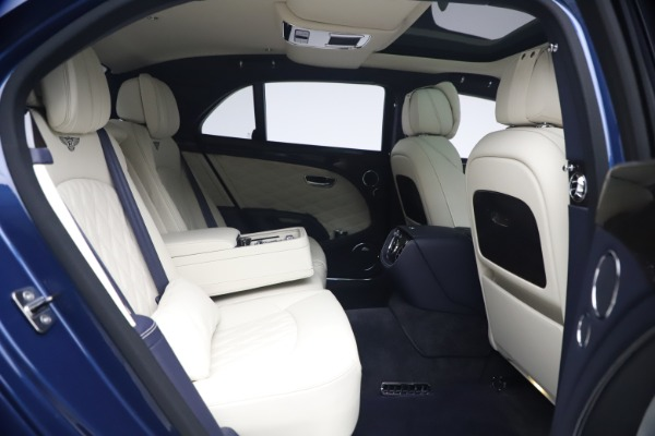 Used 2020 Bentley Mulsanne Speed for sale $279,900 at Bentley Greenwich in Greenwich CT 06830 28