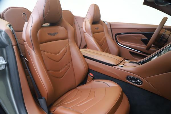 New 2020 Aston Martin DBS Superleggera Volante for sale $375,916 at Bentley Greenwich in Greenwich CT 06830 24