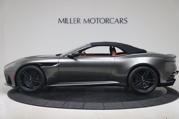 New 2020 Aston Martin DBS Superleggera Volante for sale $375,916 at Bentley Greenwich in Greenwich CT 06830 27