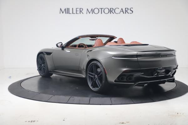 New 2020 Aston Martin DBS Superleggera Volante for sale $375,916 at Bentley Greenwich in Greenwich CT 06830 4