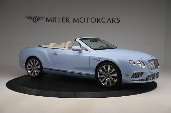 Used 2017 Bentley Continental GT Convertible W12 for sale $169,900 at Bentley Greenwich in Greenwich CT 06830 11