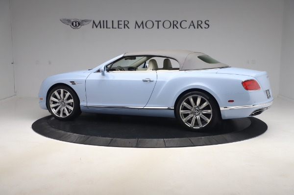 Used 2017 Bentley Continental GT Convertible W12 for sale $169,900 at Bentley Greenwich in Greenwich CT 06830 17