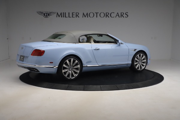 Used 2017 Bentley Continental GT Convertible W12 for sale $169,900 at Bentley Greenwich in Greenwich CT 06830 21