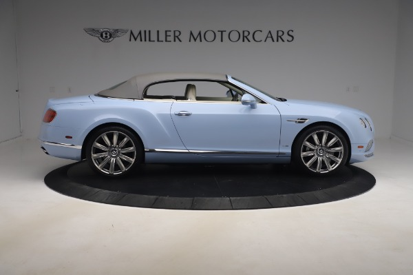 Used 2017 Bentley Continental GT Convertible W12 for sale $169,900 at Bentley Greenwich in Greenwich CT 06830 22