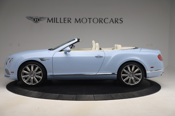 Used 2017 Bentley Continental GT Convertible W12 for sale $169,900 at Bentley Greenwich in Greenwich CT 06830 3