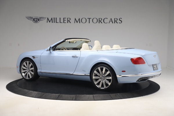 Used 2017 Bentley Continental GT Convertible W12 for sale $169,900 at Bentley Greenwich in Greenwich CT 06830 4