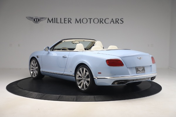 Used 2017 Bentley Continental GT Convertible W12 for sale $169,900 at Bentley Greenwich in Greenwich CT 06830 5