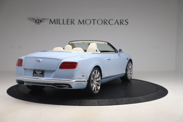 Used 2017 Bentley Continental GT Convertible W12 for sale $169,900 at Bentley Greenwich in Greenwich CT 06830 7