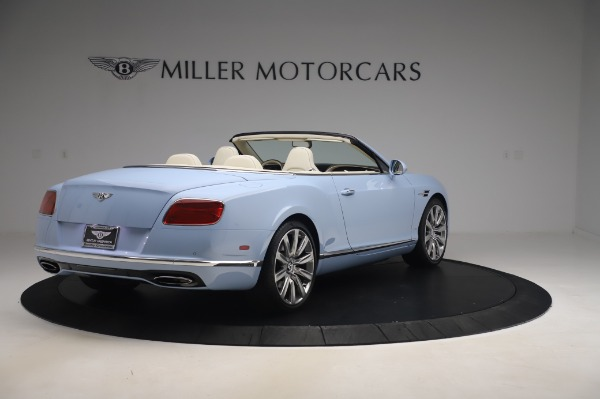 Used 2017 Bentley Continental GT Convertible W12 for sale $169,900 at Bentley Greenwich in Greenwich CT 06830 8