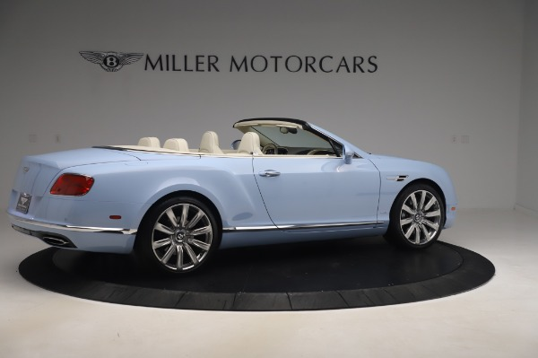 Used 2017 Bentley Continental GT Convertible W12 for sale $169,900 at Bentley Greenwich in Greenwich CT 06830 9