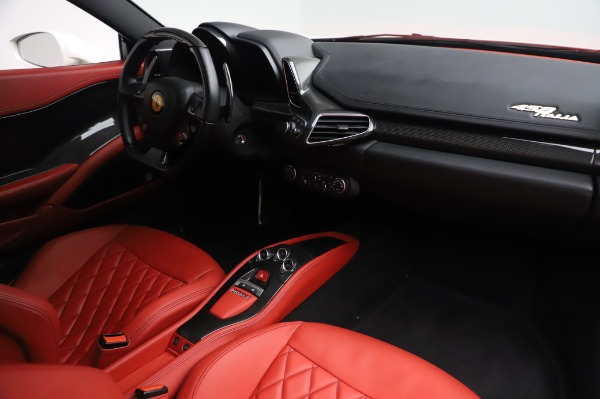 Used 2013 Ferrari 458 Italia for sale Sold at Bentley Greenwich in Greenwich CT 06830 18