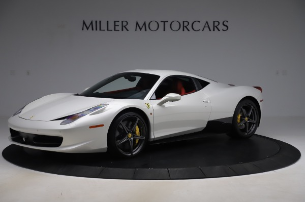 Used 2013 Ferrari 458 Italia for sale Sold at Bentley Greenwich in Greenwich CT 06830 2