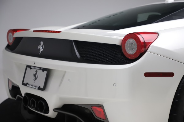 Used 2013 Ferrari 458 Italia for sale Sold at Bentley Greenwich in Greenwich CT 06830 27