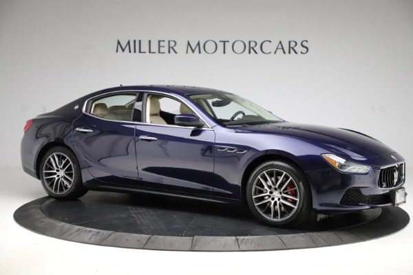 Used 2017 Maserati Ghibli S Q4 for sale $48,900 at Bentley Greenwich in Greenwich CT 06830 10