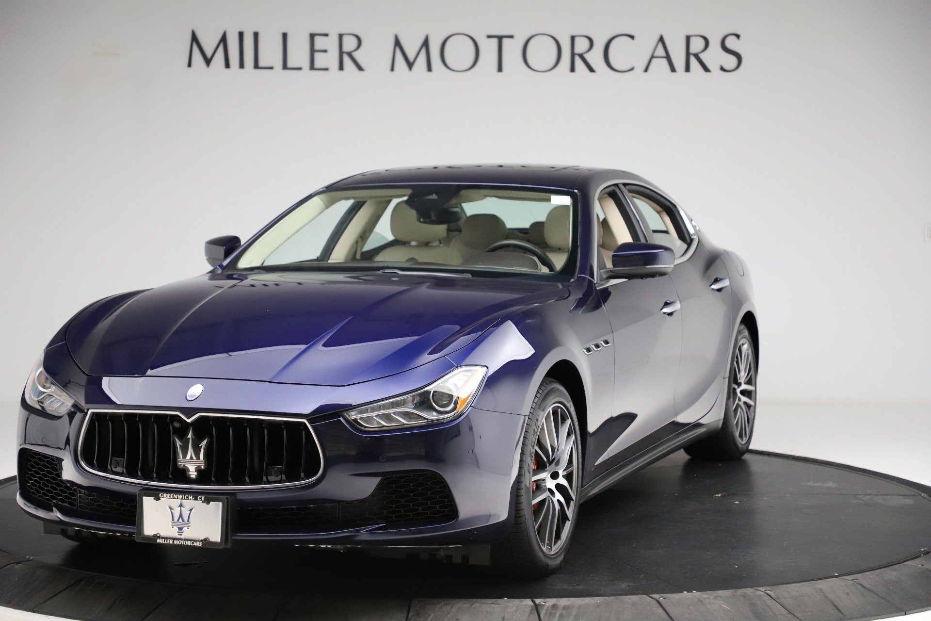 Used 2017 Maserati Ghibli S Q4 for sale Call for price at Bentley Greenwich in Greenwich CT 06830 1