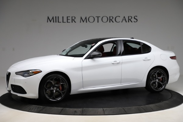 New 2020 Alfa Romeo Giulia Ti Sport Q4 for sale $51,495 at Bentley Greenwich in Greenwich CT 06830 2