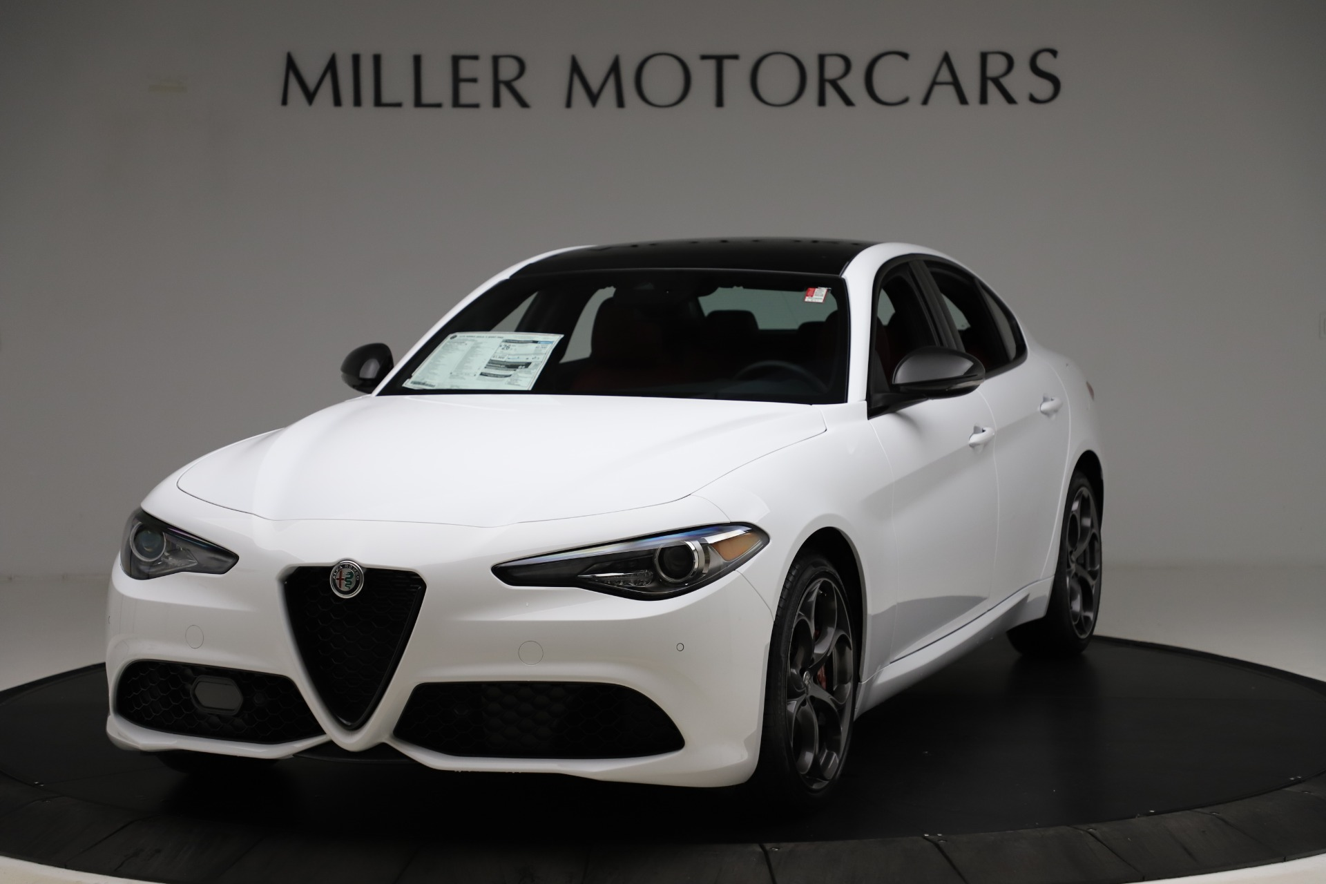 New 2020 Alfa Romeo Giulia Ti Sport Q4 for sale $51,495 at Bentley Greenwich in Greenwich CT 06830 1
