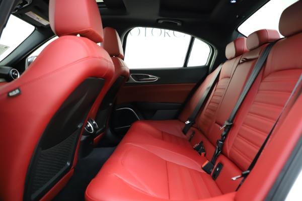 New 2020 Alfa Romeo Giulia Ti Sport Q4 for sale $52,395 at Bentley Greenwich in Greenwich CT 06830 19