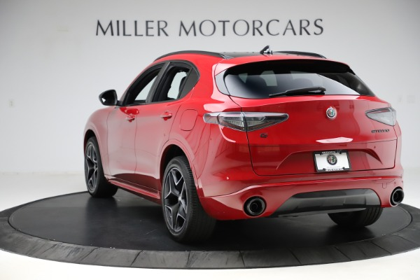 New 2020 Alfa Romeo Stelvio Ti Sport Carbon Q4 for sale $58,745 at Bentley Greenwich in Greenwich CT 06830 5
