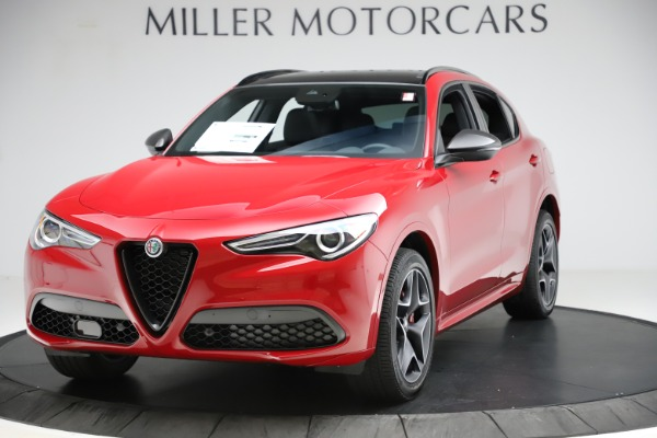 New 2020 Alfa Romeo Stelvio Ti Sport Carbon Q4 for sale Sold at Bentley Greenwich in Greenwich CT 06830 1