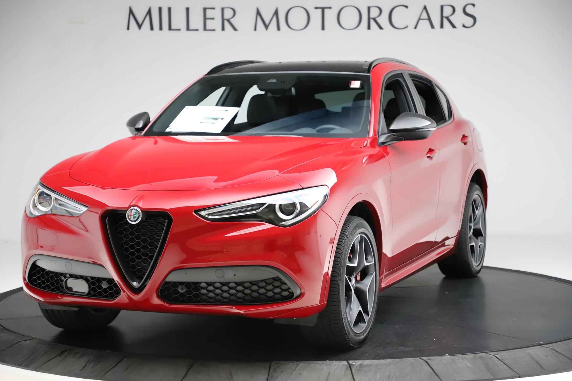 New 2020 Alfa Romeo Stelvio Ti Sport Carbon Q4 for sale $58,745 at Bentley Greenwich in Greenwich CT 06830 1