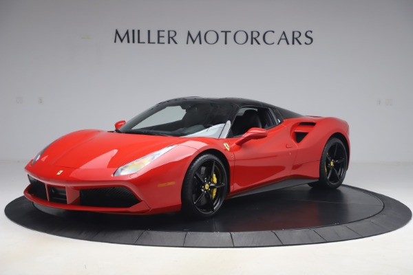 Used 2018 Ferrari 488 Spider for sale $286,900 at Bentley Greenwich in Greenwich CT 06830 12