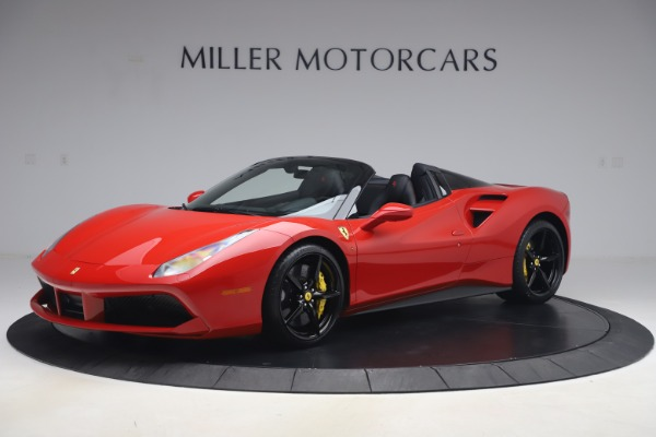 Used 2018 Ferrari 488 Spider for sale $286,900 at Bentley Greenwich in Greenwich CT 06830 2
