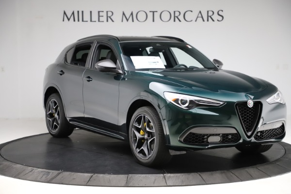 New 2020 Alfa Romeo Stelvio Ti Sport Carbon Q4 for sale Sold at Bentley Greenwich in Greenwich CT 06830 11
