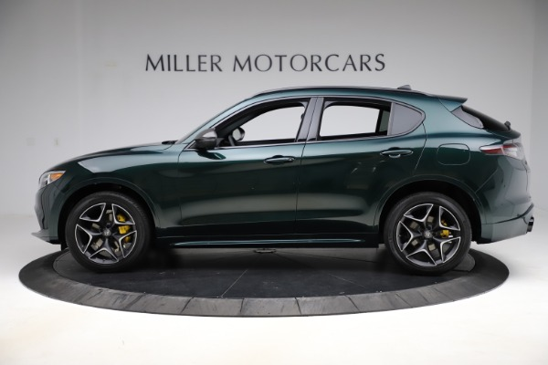 New 2020 Alfa Romeo Stelvio Ti Sport Carbon Q4 for sale Sold at Bentley Greenwich in Greenwich CT 06830 3