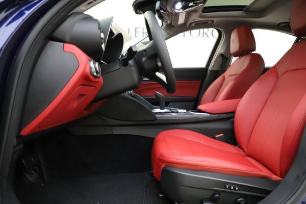 New 2020 Alfa Romeo Giulia Ti Q4 for sale $47,795 at Bentley Greenwich in Greenwich CT 06830 14