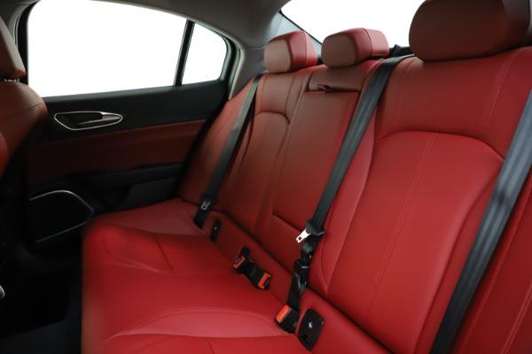 New 2020 Alfa Romeo Giulia Ti Q4 for sale Sold at Bentley Greenwich in Greenwich CT 06830 18